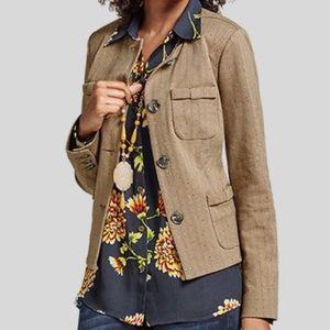 Cabi 3170 brown tweed blazer